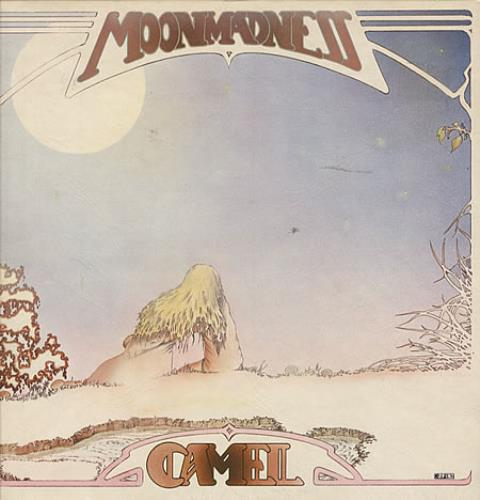 Camel Moonmadness - 1st - EX vinyl LP album (LP record) UK C-LLPMO206734