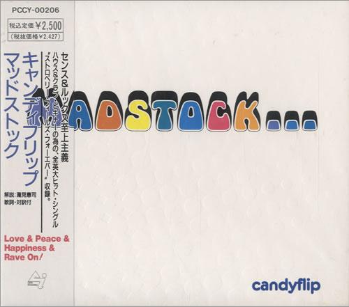 Candyflip Madstock CD album (CDLP) Japanese CCQCDMA473623