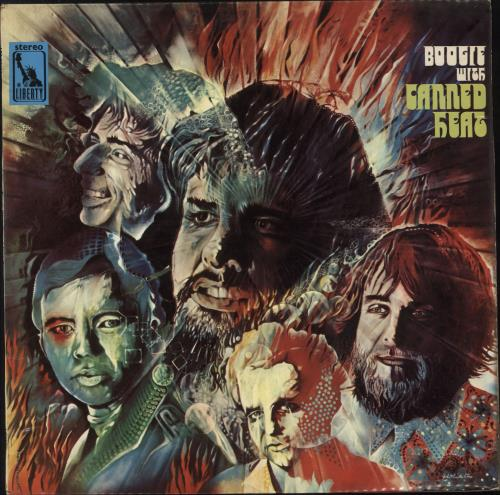 Canned Heat Boogie With Canned Heat - 1st - VG vinyl LP album (LP record) UK CNHLPBO724761