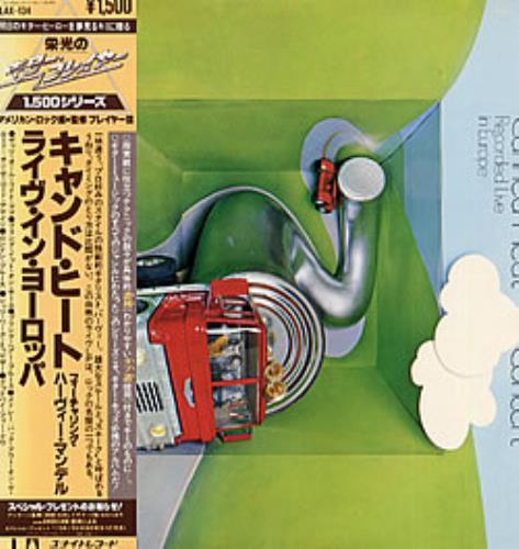 Canned Heat Concert vinyl LP album (LP record) Japanese CNHLPCO236952