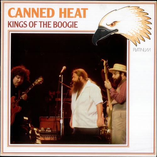 Canned Heat Kings Of The Boogie German Vinyl Lp Album Lp