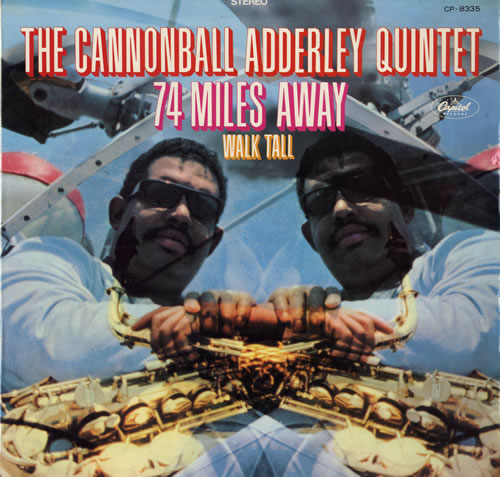 Cannonball Adderley 74 Miles Away - Red Vinyl vinyl LP album (LP record) Japanese ERLLPMI489441
