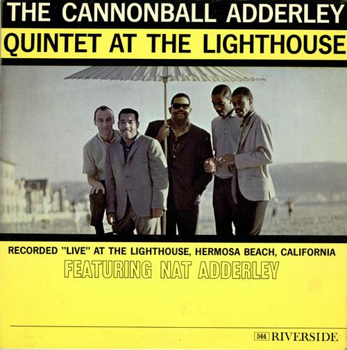Cannonball Adderley At The Lighthouse vinyl LP album (LP record) UK ERLLPAT468184