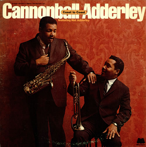 Cannonball Adderley Coast To Coast 2-LP vinyl record set (Double Album) US ERL2LCO468255