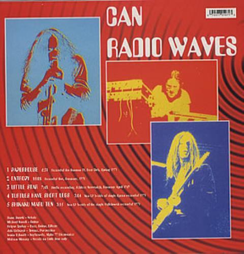 Can Radio Waves vinyl LP album (LP record) European C+NLPRA355330