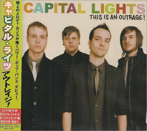 Capital Lights This Is An Outrage! + Obi - Sealed CD album (CDLP) Japanese CV9CDTH487428
