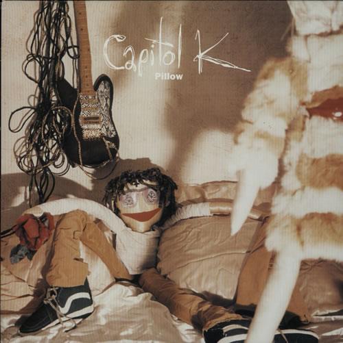 "Capitol K Pillow 12"" vinyl single (12 inch record / Maxi-single) UK G6912PI630035"