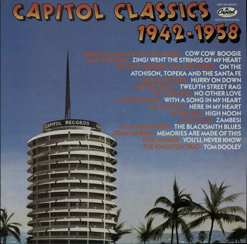 Capitol Records Capitol Classics 1942-1958 vinyl LP album (LP record) UK  6CRLPCA642033 32ba41133151