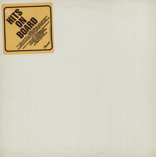 Capitol Records Hits On Board - Sampler One vinyl LP album (LP record) US 6CRLPHI578173