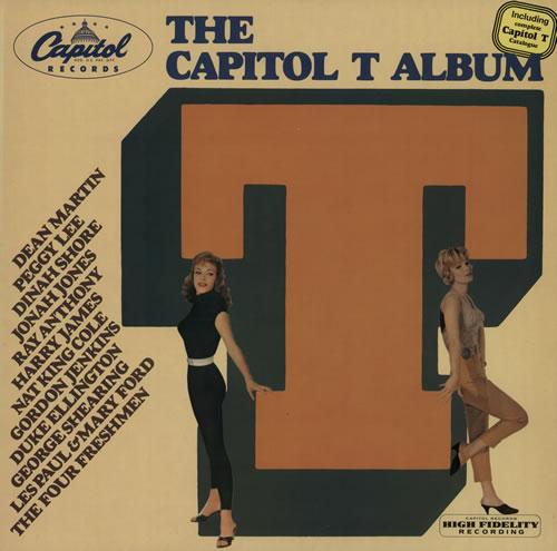 Capitol Records The Capitol T Album vinyl LP album (LP record) Dutch 6CRLPTH642032
