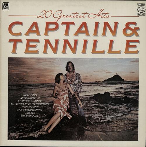 Captain & Tennille 20 Greatest Hits vinyl LP album (LP record) UK C&TLPGR573831