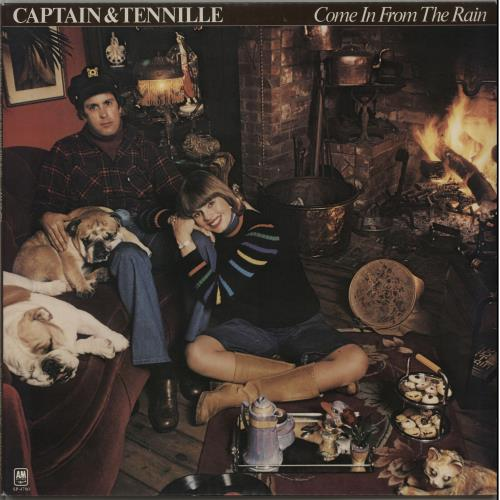 Captain & Tennille Come In From The Rain + Poster vinyl LP album (LP record) US C&TLPCO647543