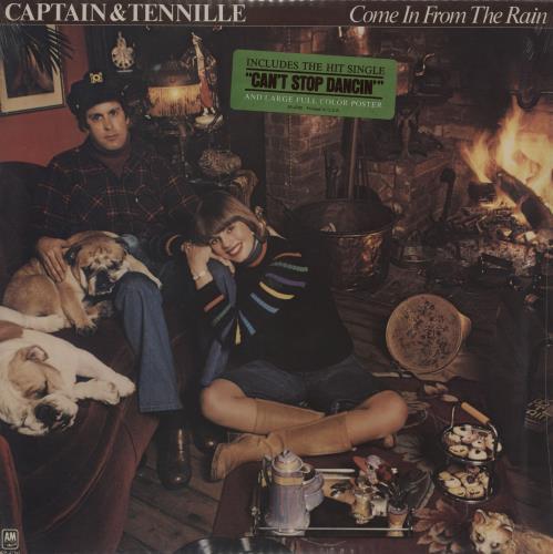 Captain & Tennille Come In From The Rain - Sealed vinyl LP album (LP record) US C&TLPCO686075