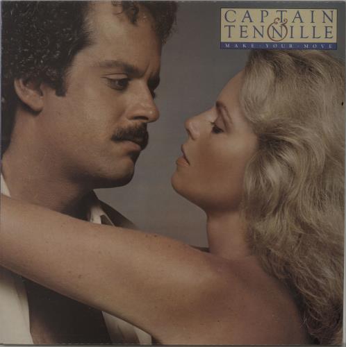 Captain & Tennille Make Your Move - Burlywood Vinyl vinyl LP album (LP record) UK C&TLPMA302130