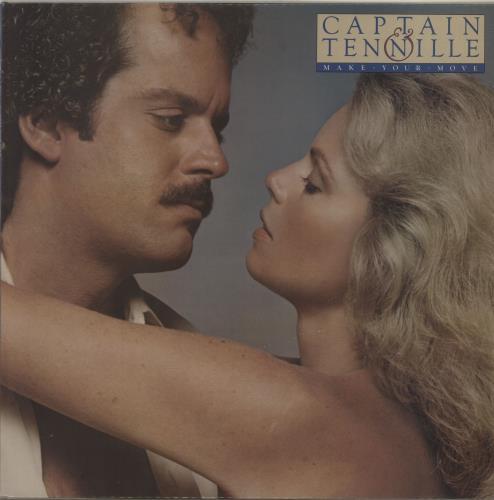 Captain & Tennille Make Your Move vinyl LP album (LP record) UK C&TLPMA683695