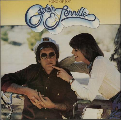 Captain & Tennille Song Of Joy vinyl LP album (LP record) UK C&TLPSO603770
