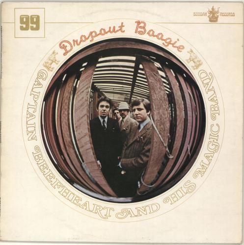 Captain Beefheart & Magic Band Dropout Boogie - EX vinyl LP album (LP record) UK CPTLPDR704318