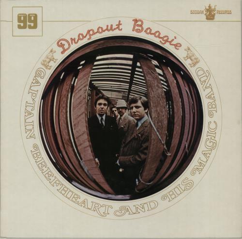 Captain Beefheart & Magic Band Dropout Boogie vinyl LP album (LP record) UK CPTLPDR247859