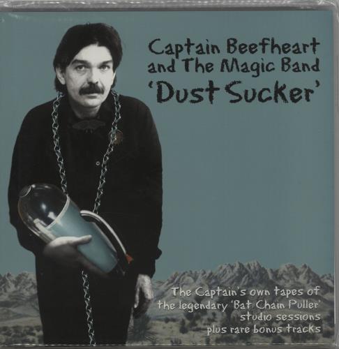 Captain Beefheart & Magic Band Dust Sucker 2-LP vinyl record set (Double Album) UK CPT2LDU437635