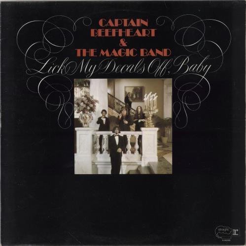Captain Beefheart & Magic Band Lick My Decals Off Baby vinyl LP album (LP record) UK CPTLPLI210684