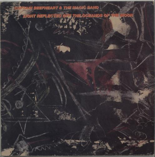 """Captain Beefheart & Magic Band Light Reflected Off The Oceands Of The Moon 12"""" vinyl single (12 inch record / Maxi-single) UK CPT12LI516611"""