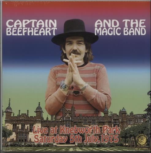 Captain Beefheart & Magic Band Live At Knebworth Park - RSD 16 - Sealed vinyl LP album (LP record) UK CPTLPLI651034