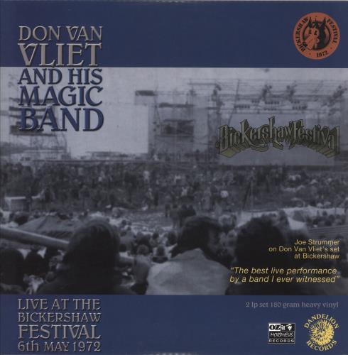 Captain Beefheart & Magic Band Live At The Bickershaw Festival 6th May 1972 2-LP vinyl record set (Double Album) UK CPT2LLI745076