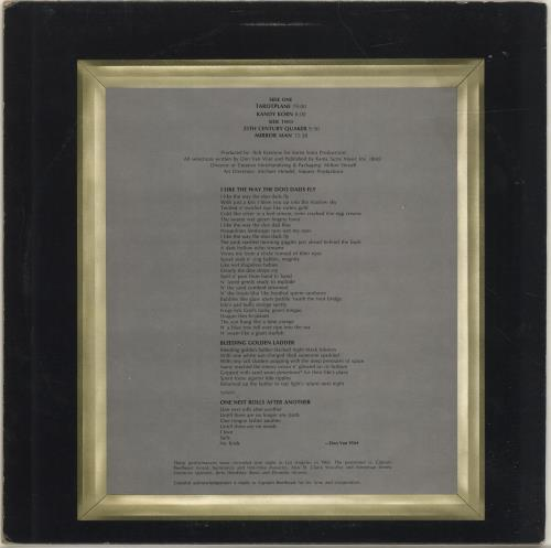 Captain Beefheart & Magic Band Mirror Man - 2nd vinyl LP album (LP record) US CPTLPMI257675