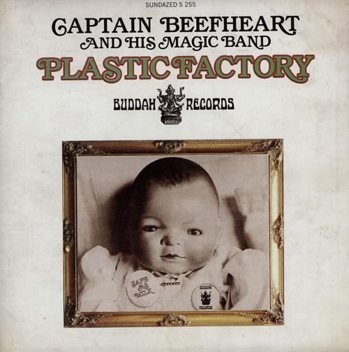 "Captain Beefheart & Magic Band Plastic Factory 7"" vinyl single (7 inch record) US CPT07PL577173"