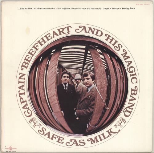 Captain Beefheart & Magic Band Safe As Milk vinyl LP album (LP record) US CPTLPSA257617