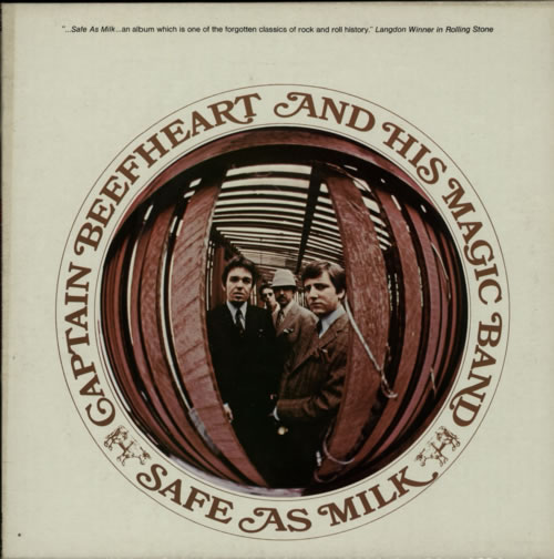 Captain Beefheart & Magic Band Safe As Milk vinyl LP album (LP record) UK CPTLPSA515852