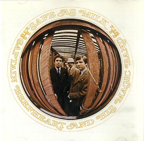 Captain Beefheart & Magic Band Safe As Milk CD album (CDLP) UK CPTCDSA607664