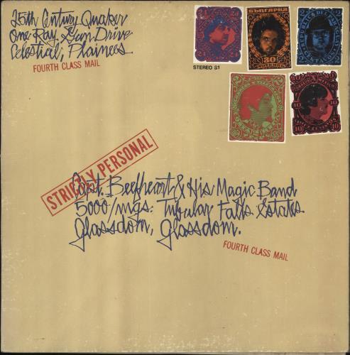 Captain Beefheart & Magic Band Strictly Personal - 1st - US Sleeve vinyl LP album (LP record) UK CPTLPST710110