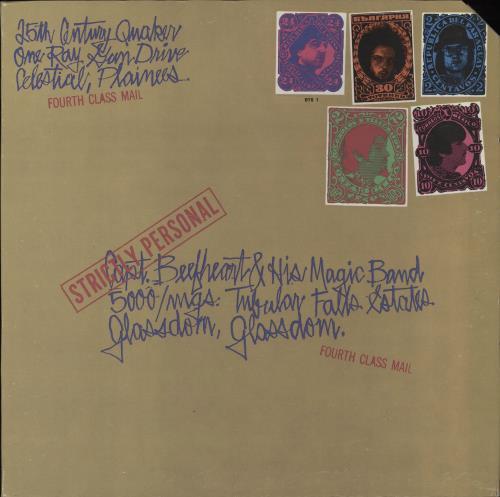Captain Beefheart & Magic Band Strictly Personal - 2nd - deletion cut vinyl LP album (LP record) US CPTLPST765628