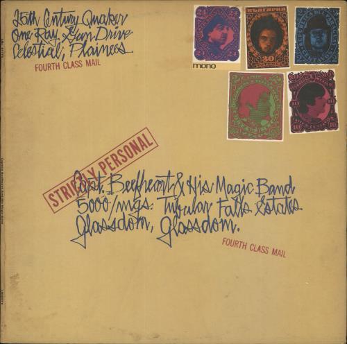 Captain Beefheart & Magic Band Strictly Personal - Mono - VG vinyl LP album (LP record) UK CPTLPST723710