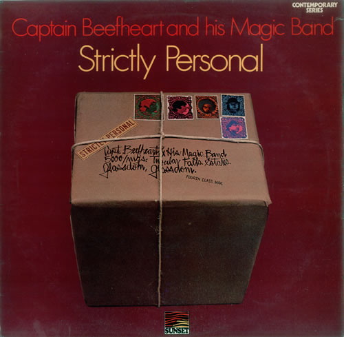 Captain Beefheart & Magic Band Strictly Personal vinyl LP album (LP record) UK CPTLPST210911