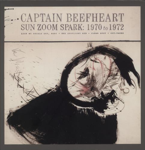 Captain Beefheart & Magic Band Sun Zoom Spark: 1970 to 1972 4-CD album set US CPT4CSU751448