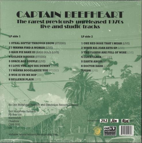 Captain Beefheart & Magic Band The Rarest Previously Unreleased 1970's Live And Studio Tracks vinyl LP album (LP record) UK CPTLPTH745078