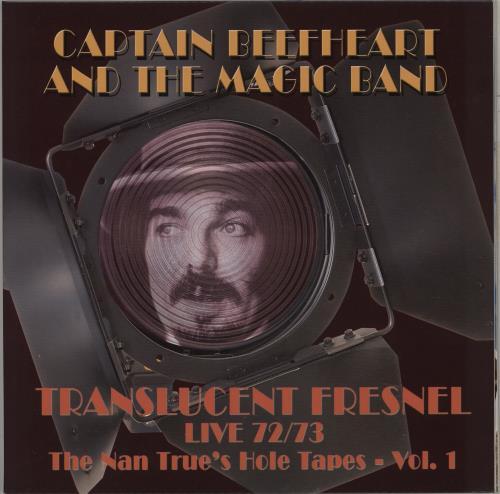 Captain Beefheart & Magic Band Translucent Fresnel - black 180 gram vinyl 2-LP vinyl record set (Double Album) UK CPT2LTR732819