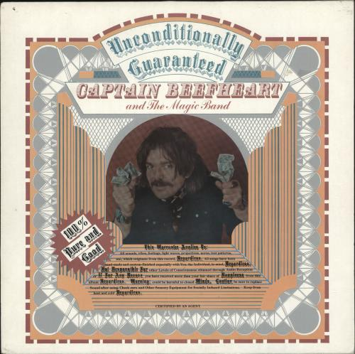 Captain Beefheart & Magic Band Unconditionally Guaranteed vinyl LP album (LP record) UK CPTLPUN693795