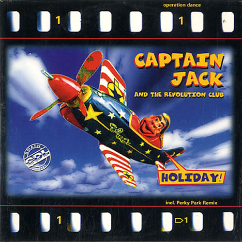 "Captain Jack Holiday! CD single (CD5 / 5"") Dutch CPJC5HO626765"
