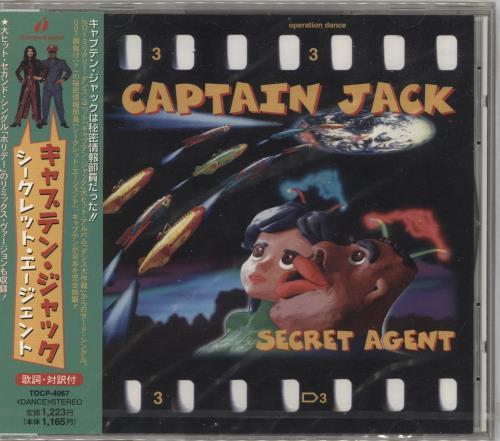 """Captain Jack Secret Agent/ Holiday - Sealed CD single (CD5 / 5"""") Japanese CPJC5SE730023"""