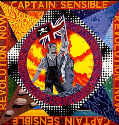 Captain Sensible Revolution Now 2-LP vinyl record set (Double Album) UK CSE2LRE283016