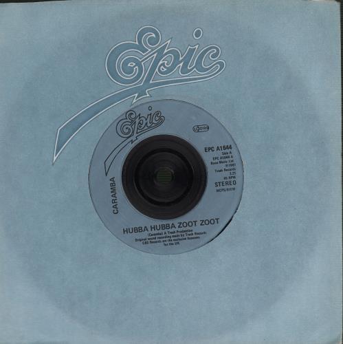 """Caramba Hubba Hubba Zoot Zoot 7"""" vinyl single (7 inch record) UK IGZ07HU652679"""