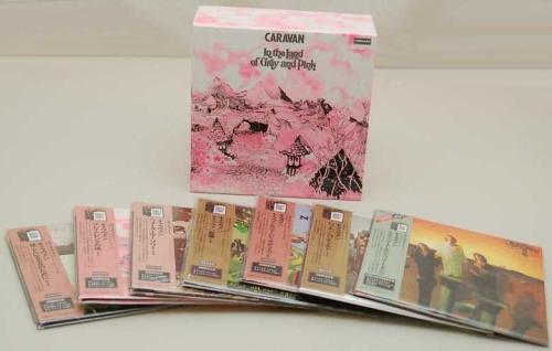 Caravan In the Land of Grey And Pink - Paper Sleeve Collection 7-CD album set Japanese CAV7CIN752408
