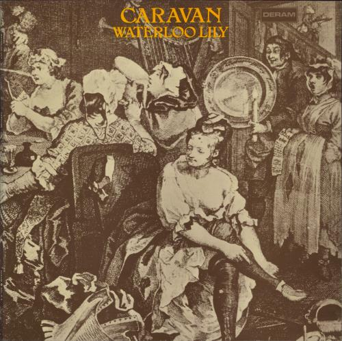 Caravan Waterloo Lily - 1st vinyl LP album (LP record) UK CAVLPWA771723