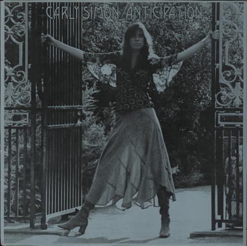 Carly Simon Anticipation + Insert vinyl LP album (LP record) UK CALLPAN264253