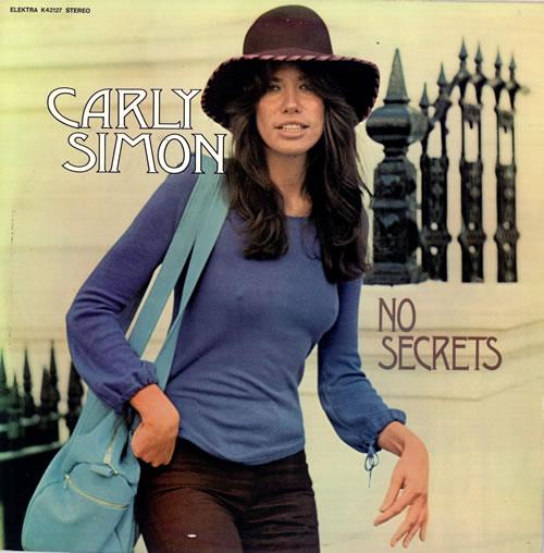 Carly Simon No Secrets Dutch Vinyl LP Album (LP Record