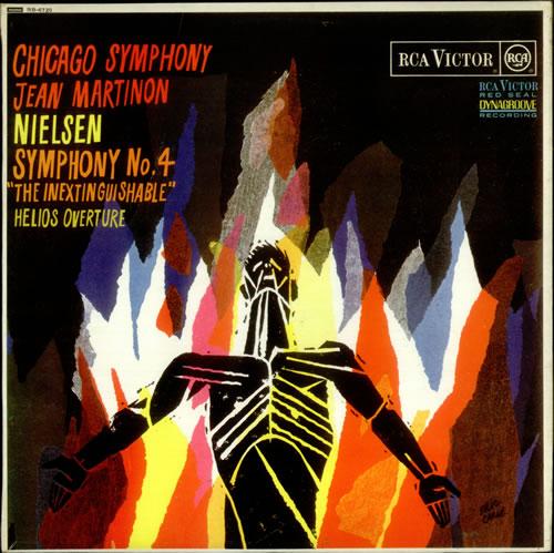 Carl Nielsen Symphony No. 4 'The Inextinguishable' - Test Pressing vinyl LP album (LP record) UK C52LPSY540531