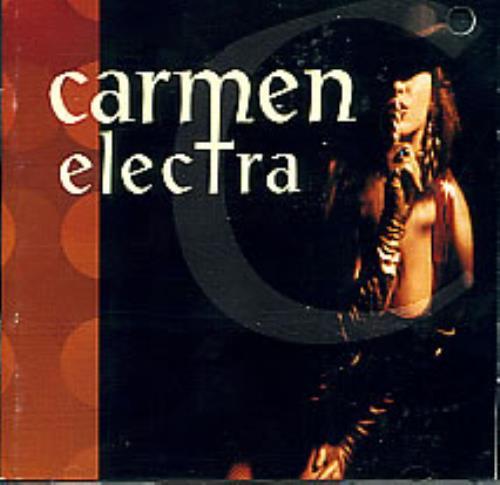 Carmen Electra Carmen Electra CD album (CDLP) US CMNCDCA95016